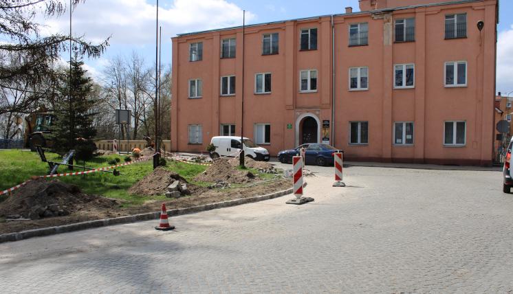 Ilustracja do informacji: Nowe skrzyżowanie w Szprotawie