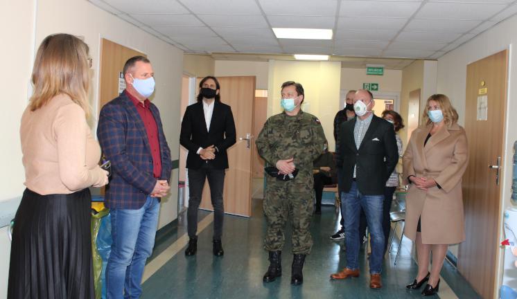 Ilustracja do informacji: Otwarcie Punktu Szczepień Powszechnych w Żaganiu