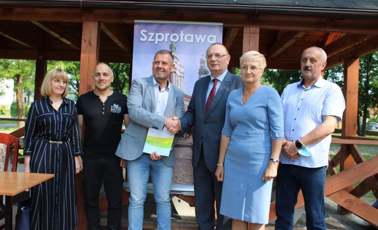 Ilustracja do informacji: Powiat Żagański ze wsparciem od Województwa
