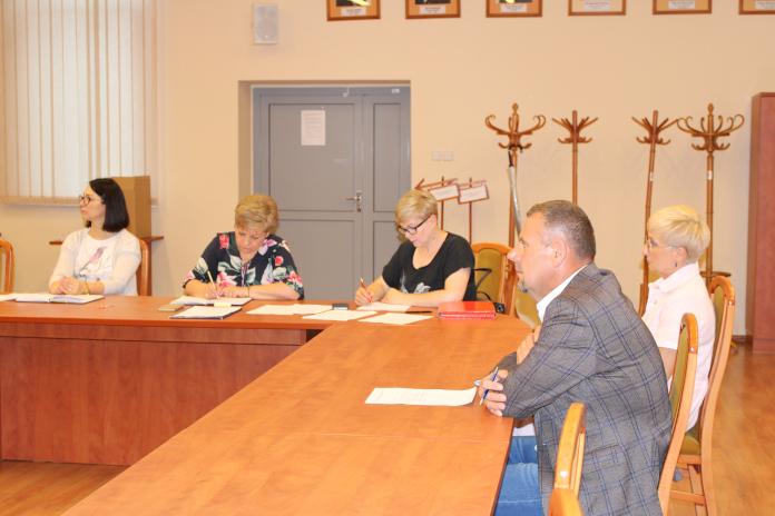 Ilustracja do informacji: Posiedzenie Komisji Bezpieczeństwa i Porządku Powiatu Żagańskiego