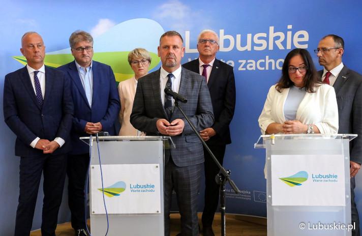Ilustracja do informacji: Razem dla Regionu Lubuskiego