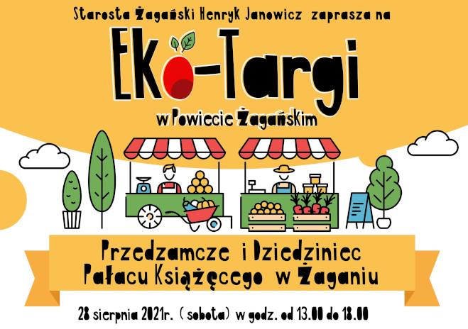 Ilustracja do informacji: Zapraszamy do udziału w Eko-Targach w Powiecie Żagańskim !