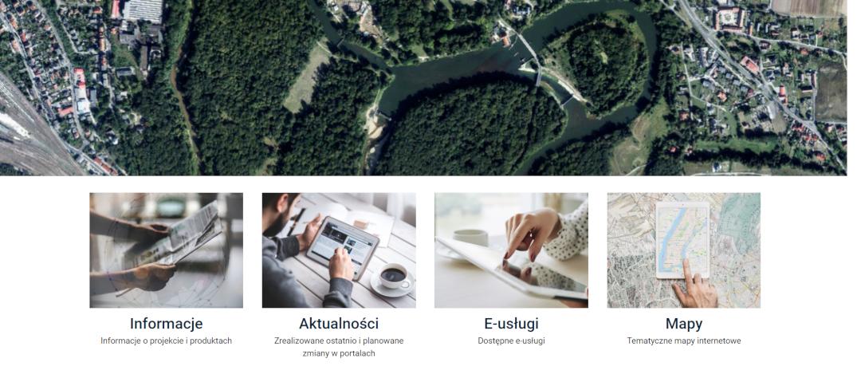 Ilustracja do informacji: Platforma e-usług w Wydziale Geodezji już dostępna!