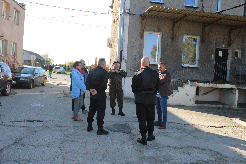 Ilustracja do informacji: Oględziny obiektu JRG w Szprotawie