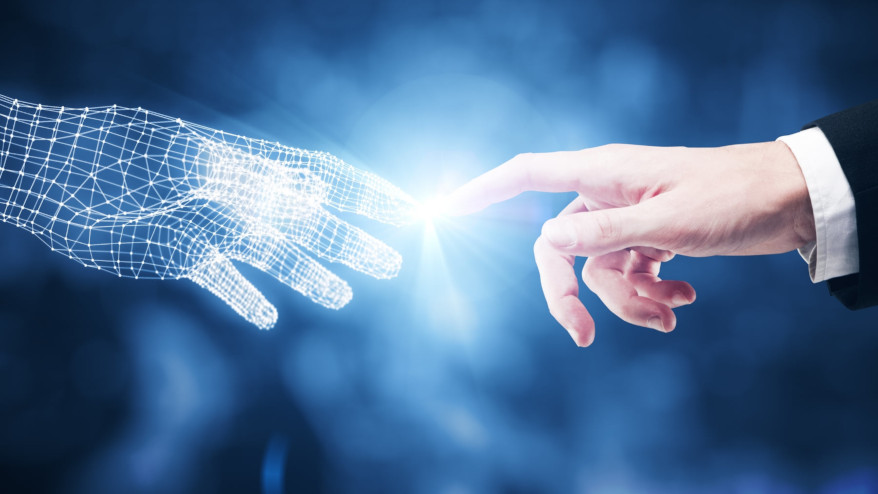 Ilustracja do informacji: Zapraszamy na konferencję AI- Sztuczna Inteligencja w Edukacji