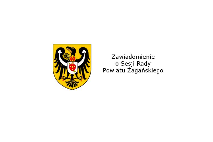 Ilustracja do informacji: Zawiadomienie o XIX sesji Rady Powiatu Żagańskiego